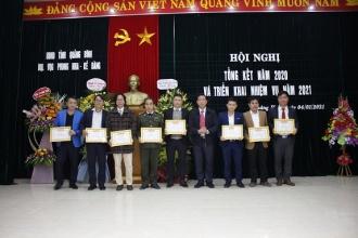 BQL VQG Phong Nha – Kẻ Bàng: Hội nghị tổng kết năm 2020 và triển khai nhiệm vụ năm 2021